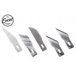 EXL20004 Outil - Lames de cutter - 5 lames assorties Heavy Duty - Pour cutter K2, K5 et K6