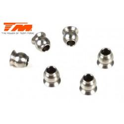 TM115032 Pièce détachée - Rotule acier 5.8mm (10 pces)