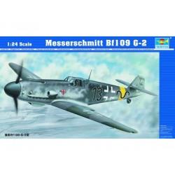 TRU02406 TRUMPETER Messersch. Bf109 G-2 1/24