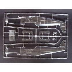 TM505249TI Pièce détachée - E6 III - Aluminium anodisé Titanium - Support moteur réglable avec protection