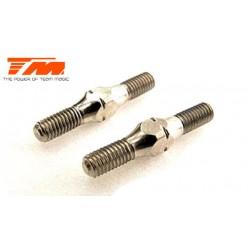 TM116132 Biellettes à pas inversé - 3x 20mm (2 pces)