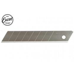 EXL20007 Outil - Lames de cutter - Lames fractionable en 8 points - 18mm (5 pces) - Pour cutter K13, K815 et K850