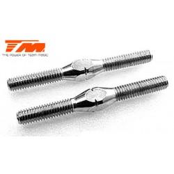 TM116133-5W Biellettes à pas inversé - Acier Inox - 3x 35mm (2 pces)