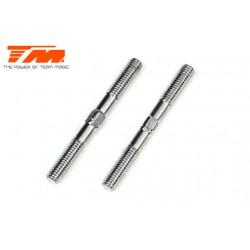 TM116133A Biellettes à pas inversé - Aluminium 7075 - 3x 30mm (2 pces)