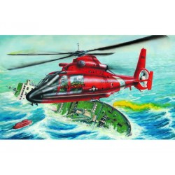 TRU02801 TRUMPETER US HH-65A Dolphin 1/48