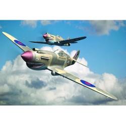 TRU02807TRUMPETER Curtis P-40B Warhawk 1/48