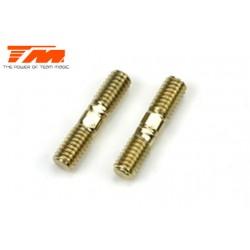 TM116141-8C Biellettes à pas inversé - CR - 4x 18mm (2 pces)