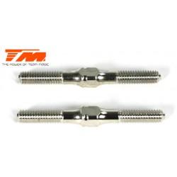 TM116144-5W Biellettes à pas inversé - Acier Inox - 4x 45mm (2 pces)