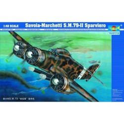 TRU02817 TRUMPETERSavoia Marchetti SM-79 II 1/48