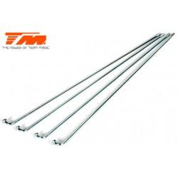 TM116208 Pièce détachée - Tringlerie de gaz/frein (4 pces)