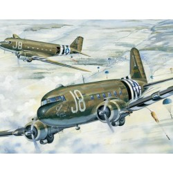 TRU02828 TRUMPETER C-47A Skytrain 1/48