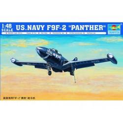 TRU02832 TRUMPETER US Navy F9F-2 1/48