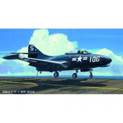 TRU02834 TRUMPETER US Navy F9F3 Panther 1/48