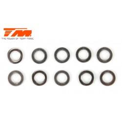 TM116226 Rondelles - 3.1 x 4.8 x 0.5mm (10 pces)