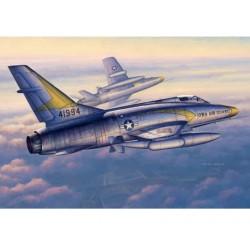 TRU02838 TRUMPETER F-100C Super Sabre 1/48
