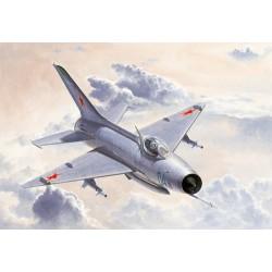 TRU02858 TRUMPETER MIG21 F13/J7 Fighter 1/48