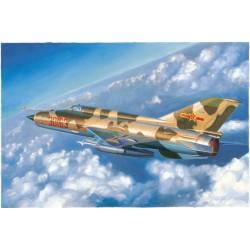 TRU02864 TRUMPETER J-7C/J-7D Fighter 1/48