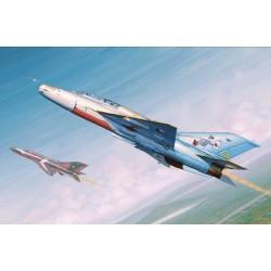 TRU02865 TRUMPETER MIG-21UM Fighter 1/48