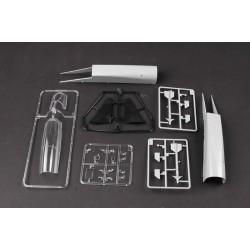 EXL00003 EXCEL Tools Outil - Manche de scalpel - Manche fin en acier inoxidable
