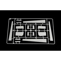 EXL19007 Outil - Wood Carving Cutter - K7 - Manche plastique noir - with scabbard et 5 lames assorties