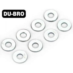 DUB2107 Washers - 2mm Flat Washers (8 pcs per package)