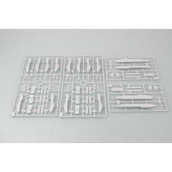 EXL30416 Outil - Pincettes - Acier inox - 4 Pincettes dans une housse