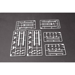EXL30418 Outil - Pincettes - Pointe fine - Pointe droite - Polie - 12cm
