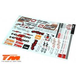 TM118022 Autocollants - E4D-MF Pro