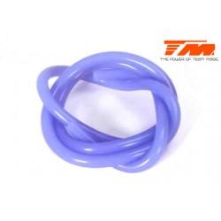 TM119001B Durite pour mélange nitro - 0.6m - bleu translucide