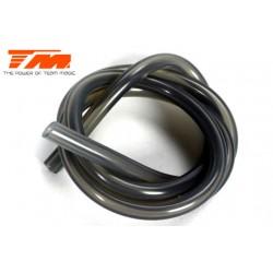 TM119004BG Durite pour mélange nitro - Gros débit (2.5mm) - 1m – smoke