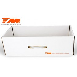 TM119212-1 Elément de sac - Team Magic Touring Car - Tiroir carton – Large