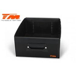 TM119220-2 Elément de sac - Team Magic Formula 8 - Tiroir plastique noir – Petit