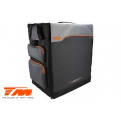 TM119238E Sac - Transport - Team Magic F8 Supra - sans table / avec tiroirs plastique et roulettes