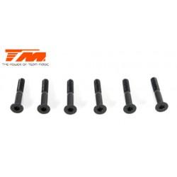 TM123522 Vis - tête fraisée - M3.5 x 22mm (6 pces)