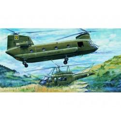 TRU05104 TRUMPETER CH-47A Chinook Hubs. 1/35