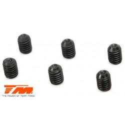 TM126303S Vis sans tête - M3 x 2mm (6 pces)