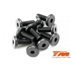TM126308SBU Screws - Button Head - Hex (Allen) - M3 x 8mm Half Thread (10 pcs)