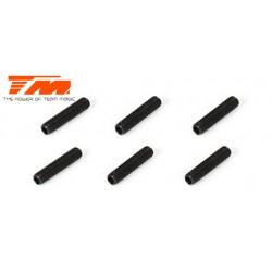 TM126312S Vis sans tête - M3 x 12mm (6 pces)