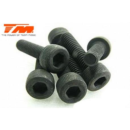 TM126318C Vis - tête cylindrique - Hex (Allen) - M3 x 18mm (6 pces)