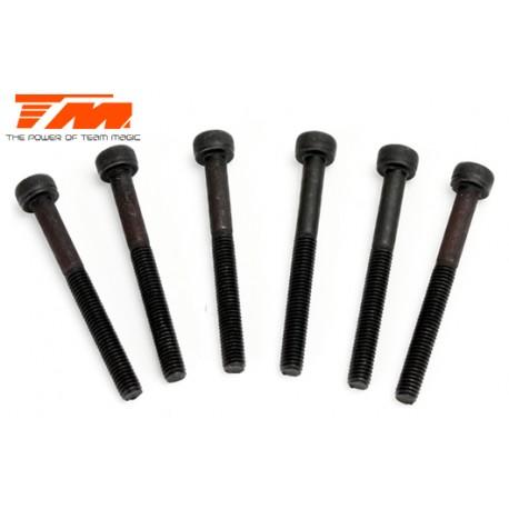 TM126330C Vis - tête cylindrique - Hex (Allen) - M3 x 30mm (6 pces)