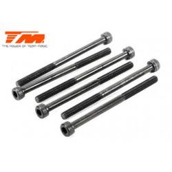 TM126345C Vis - tête cylindrique - Hex (Allen) - M3 x 45mm (6 pces)