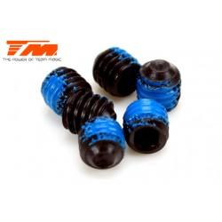 TM126404NL Vis sans tête - M4 x 4mm avec frein filet (6 pces)