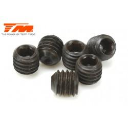 TM126505S Vis sans tête - M5 x 5mm (6 pces)