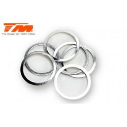 TM130101 Rondelles - 13.2 x 15.8 x 0.22mm (6 pces)