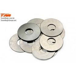 TM130102 Rondelles - 8.1 x 12 x 0.2mm (10 pces)