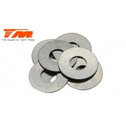 TM130103 Rondelles - 4.2 x 10 x 0.2mm (6 pces)