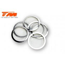 TM130106 Rondelles - 13.2 x 15.9 x 0.1mm (6 pces)