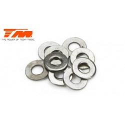 TM130111 Rondelles - 2.6 x 6 x 0.5mm (10 pces)