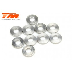 TM130120 Rondelles - 3 x 7 x 1mm (10 pces)