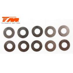 TM130121 Rondelles - 6.2 x 12 x 0.15mm (10 pces)
